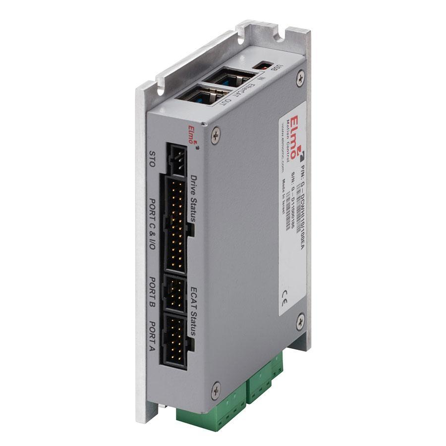 Gold DC Whistle: EtherCAT compact wall mounted servo drive