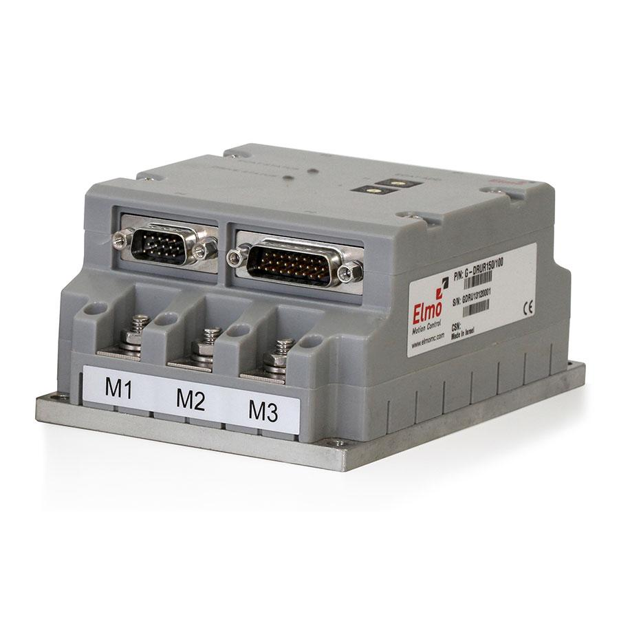 Gold Drum is a CANopen & EtherCAT network based servo drive