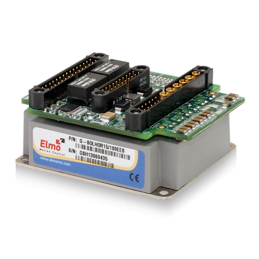 Gold Solo Hornet is a compact, stand-alone and rugged servo drive