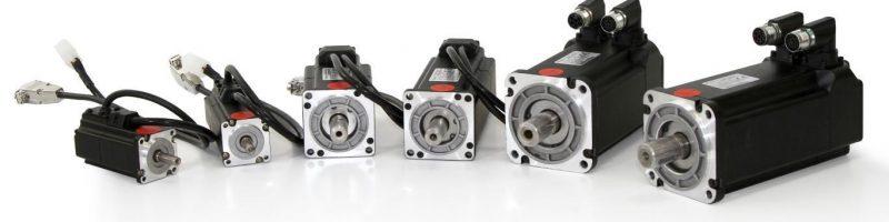 types of servo motor